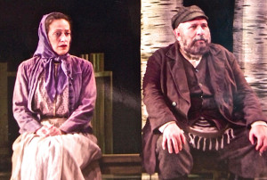 as Golde in Fiddler on the Roof (with Jay Brazeau) Playhouse Theatre, 2002