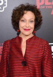 Karin Konoval at the New York premiere of War for the Planet of the Apes, photo courtesy of 20th Century Fox